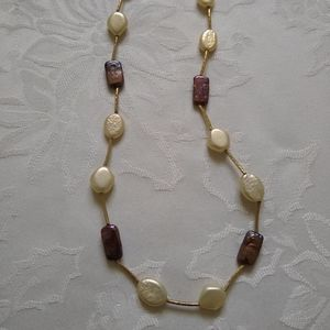 Lia Sophia polished rock candy mother of pearl